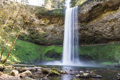 Silver lake falls Stock Photos