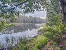 Silver Lake In Sullivan County Royalty Free Stock Images