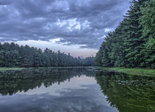 Silver Lake In Sullivan County Stock Images