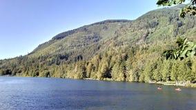 Silver Lake Kayaking στοκ εικόνες