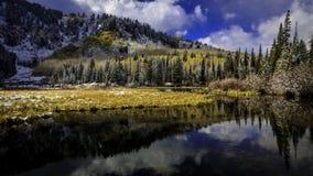 Silver Lake am Nachmittag Stockfoto