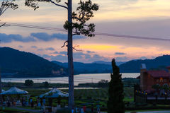 Silver Lake Pattaya Royaltyfria Bilder