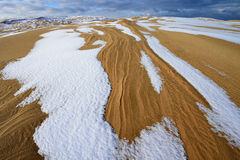 Silver Lake Sand Dunes Royalty Free Stock Photo