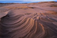 Silver Lake Sand Dunes Stock Image