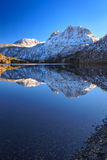 Silver Lake in the Sierra's, California, USA.. royalty free stock photography