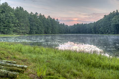 Silver Lake in Sullivan County Royalty-vrije Stock Foto