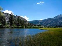 Silver Lake Ucieka się Zdjęcie Royalty Free