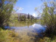 Silver Lake Ucieka się Obrazy Royalty Free