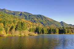Silver Lake, Whatcom-Provincie Stock Foto