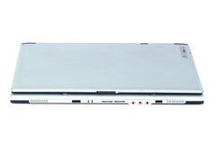 Silver laptop Royalty Free Stock Photo