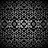 Silver leaf wallpaper Royalty Free Stock Photos