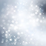 Silver light background Stock Images
