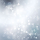 Silver light background Royalty Free Stock Photography