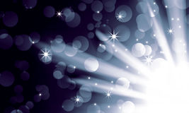 Silver light spotlights Royalty Free Stock Photo