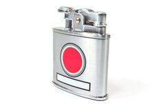 Silver lighter Stock Photo