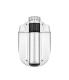 Silver lighter. Isolated on a white background Royalty Free Stock Photos
