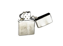 Silver lighter Royalty Free Stock Image
