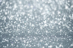 Silver lights background Stock Photos