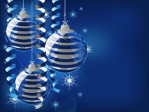 Silver line eps8 christmas background Royalty Free Stock Photography