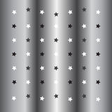 Silver little star background Royalty Free Stock Photos