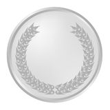 Silver luerel wreath Royalty Free Stock Photo