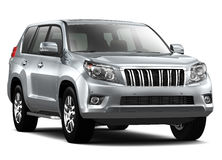 Silver Luxury SUV Royalty Free Stock Images