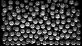 Silver marble balls Royalty Free Stock Photo