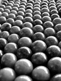 Silver marbles background Stock Photos
