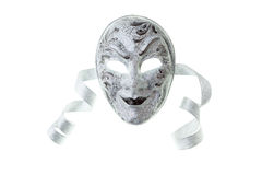 Silver mask Royalty Free Stock Photos