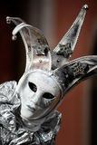 Silver mask Stock Photography