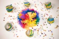 Silver Masquerade Party stock image