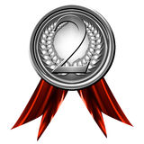 Silver medal Royalty Free Stock Image