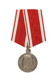 Silver medal Stock Photos