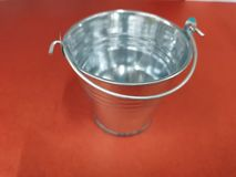 The silver medal pail stock images