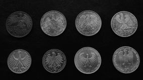 Silver Medals Royalty Free Stock Photos