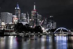 Silver Melbourne stock photography
