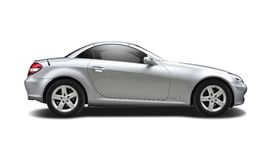 Silver Mercedes SLK