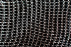 Silver Mesh Background Royalty Free Stock Photos