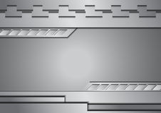 Silver metal abstract background Stock Image