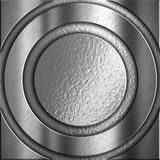 Silver metal background Stock Photography