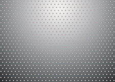 Silver metal background bobble Royalty Free Stock Photo