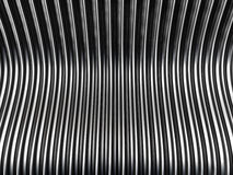 Silver metal background. 3d illustration Stock Photos