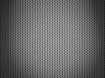 Silver metal grate or grid background Stock Photography
