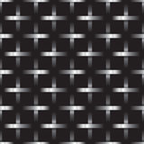 Silver metal grid on black background Royalty Free Stock Photo