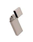 Silver metal lighter Royalty Free Stock Image