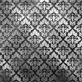 Silver metal plate Royalty Free Stock Images