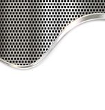 Silver metal template background Stock Photo
