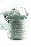 Silver Metal Tiffin, Food Container Royalty Free Stock Photography