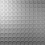 Silver metal tile background Stock Photos
