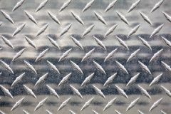 Silver metal treads Stock Photography